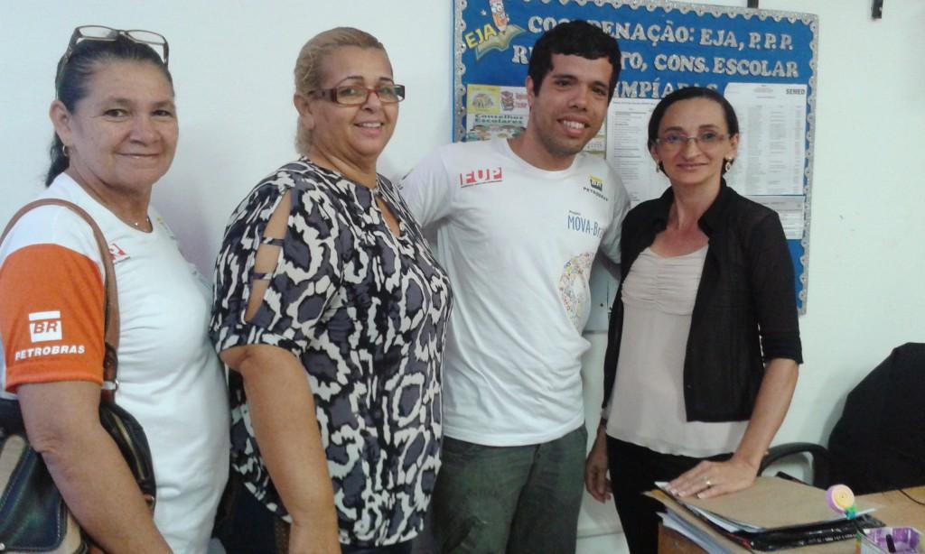 Reunião Secretaria Municipal de Educação da EsquerdaAglais Macena Coordenadora da EJA