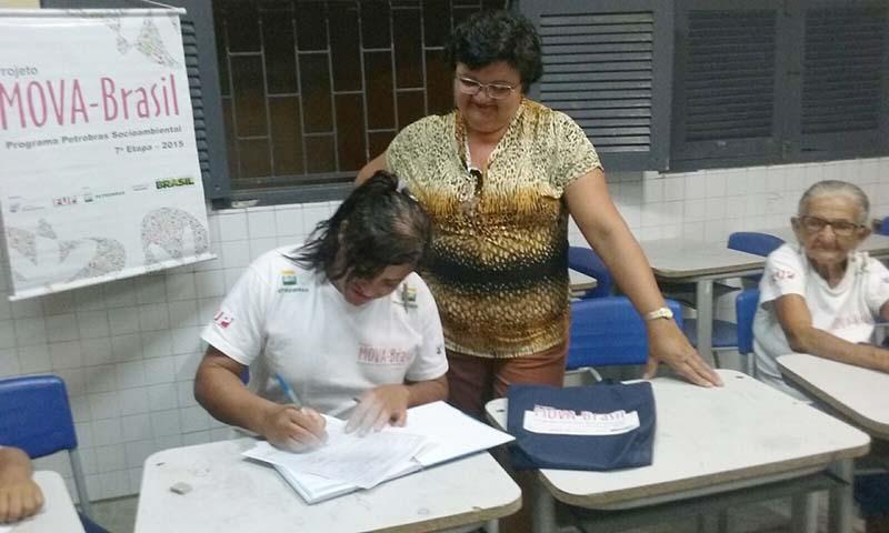 Pré Matricula para EJA da Comunidade Stº Antonio, Núcleo de Pato (13)