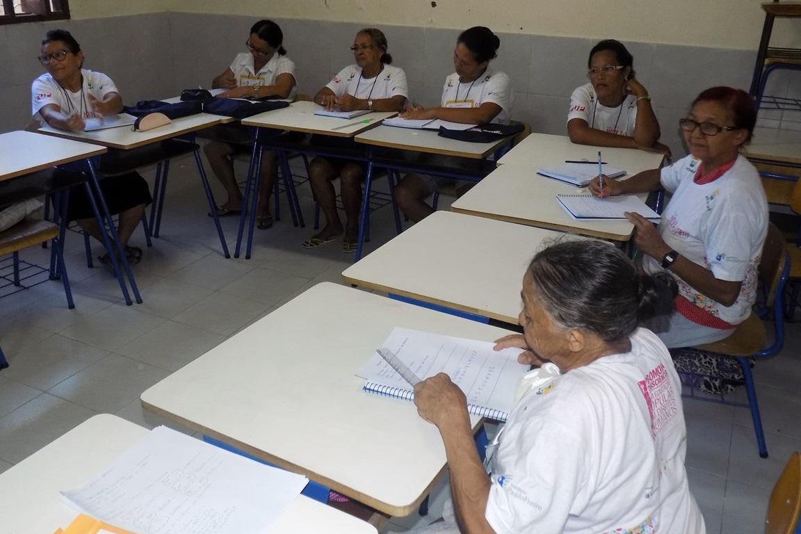 Educandas da turma da comunidade do Planalto_Natal (RN)