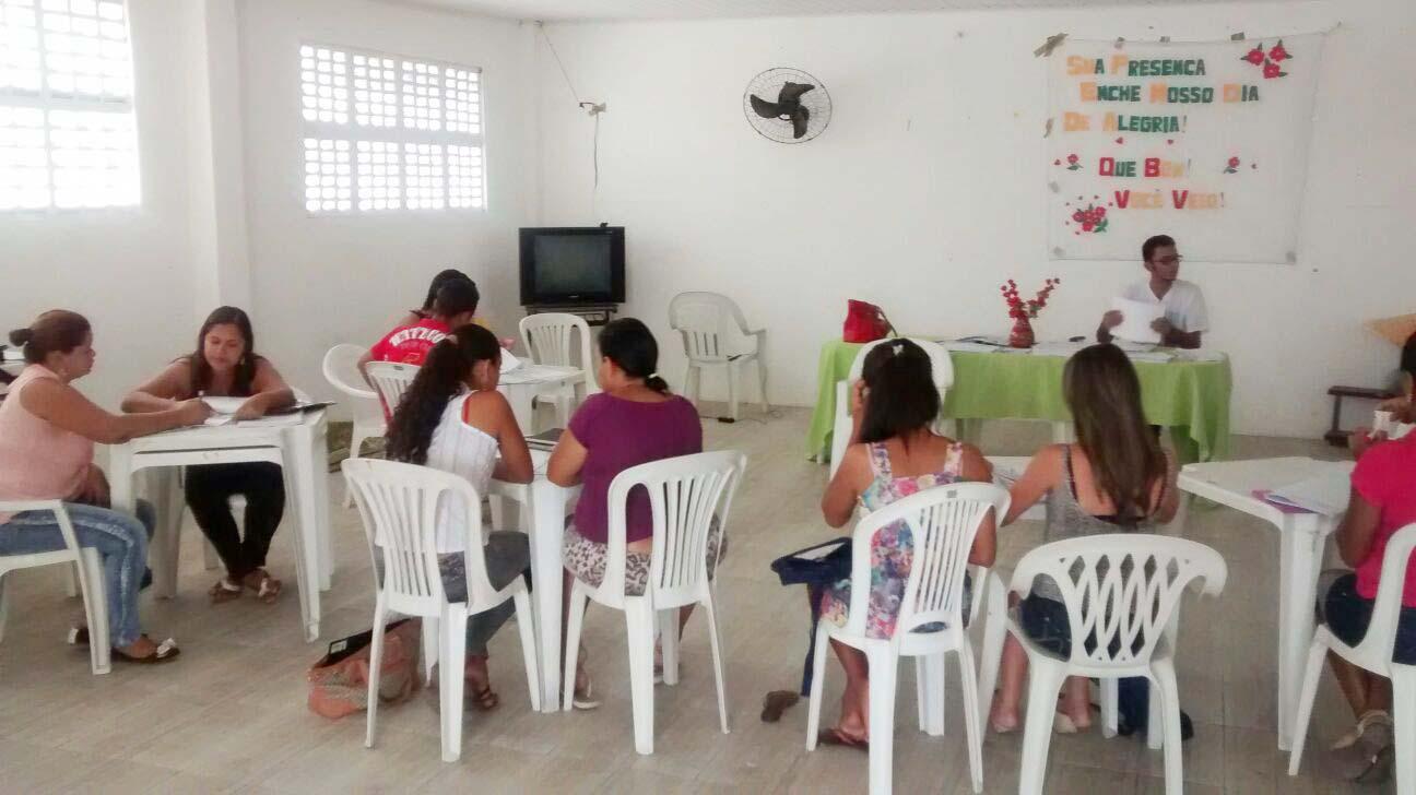 formação semanal núcleo Baixo São Francisco4 18.09