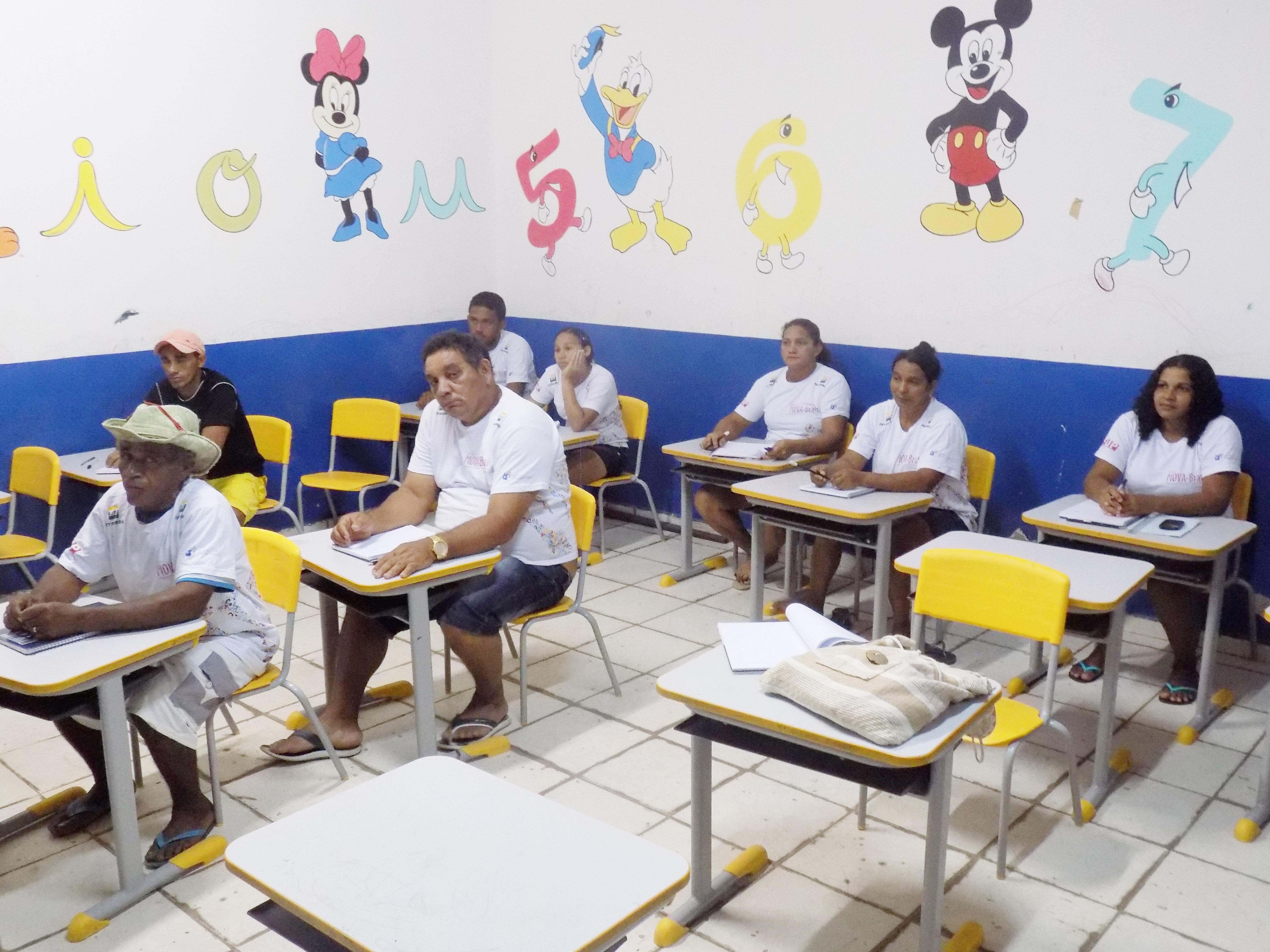 Educandos Turma monitora Maria Luiza Sao Francisco do Maranhao - MA