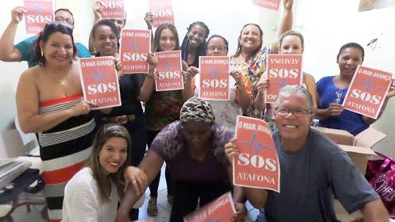 Núcleo Sol Nascente em apoio a Campanha da Turma Amor,Atafona